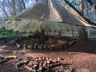 Forest school camp